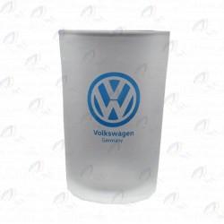 لیوان شیشه ای یخی بدون دسته