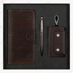 نیم ست مدیریتی - کیف پول - جاکلیدی - خودکار