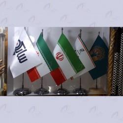 پرچم رومیزی لمینت